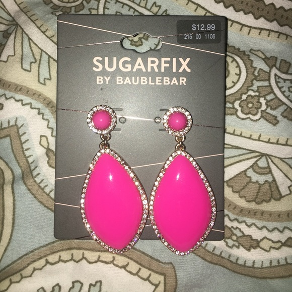 NWT BaubleBar Sugar Fix for Target earrings NWT